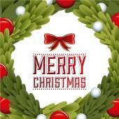 С Рождеством Христовым дизайн — Cтоковый вектор