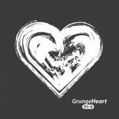 Сердце любви дизайн — Cтоковый вектор