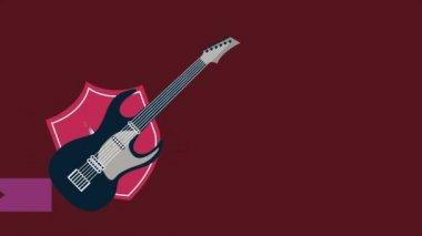 Gitara — Wideo stockowe