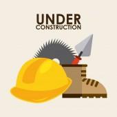 Konstrukcja — Wektor stockowy