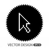 Computer icon design  — Stock Vector