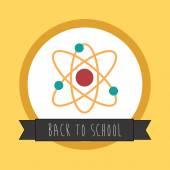 Backto школа дизайна — Cтоковый вектор