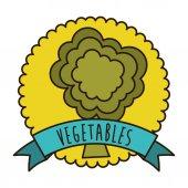 дизайн овощи — Cтоковый вектор