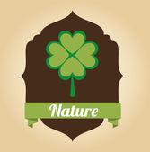 Projeto natureza — Vetorial Stock