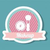 Makeup design — Stock Vector