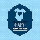Babby shower design  — Stock vektor