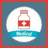 Lékařské design — Stock vektor