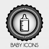 Diseño del bebé — Vector de stock