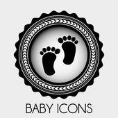 Baby ontwerp — Stockvector