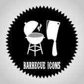 Barbecue design  — Stock Vector