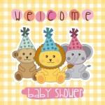 Baby shower design — Stock Vector #57778249