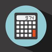 Kalkulačka design — Stock vektor