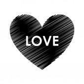 Miłość projekt — Wektor stockowy