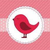 Projekt ptak — Wektor stockowy
