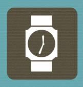 Progettazione del tempo — Vettoriale Stock