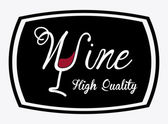 Diseño vino — Vector de stock