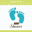 Baby shower design — Stock Vector #58316697