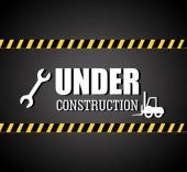 Under construction design — Stock Vector