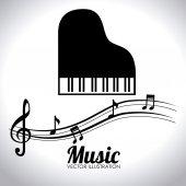 音乐设计 — 图库矢量图片