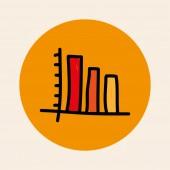 статистика дизайн — Cтоковый вектор