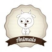 Animaux design — Vecteur