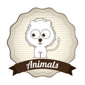 Animals design  — Stockvektor