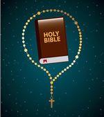 Holy bible design  — Stock Vector