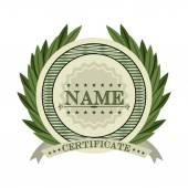 Certificate design  — Stock Vector