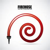 Feueralarm-Gestaltung — Stockvektor