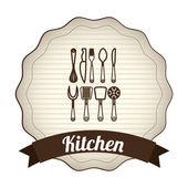 台所設計 — ストックベクタ