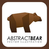 Abstrato design animal — Vetorial Stock