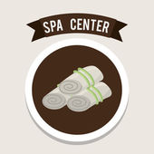 Spa center design  — Stock Vector
