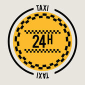 Taxi service design  — Vetorial Stock