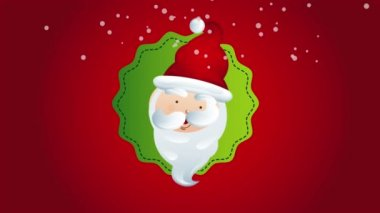 Santa Christmas Animation — Stock Video