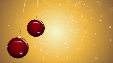 Weihnachten Hintergrundanimation — Stockvideo