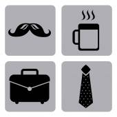 Business icons — Stock Vector