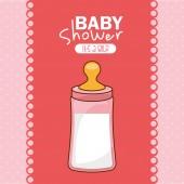 Conception de bébé — Vecteur