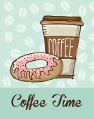 Coffee  design  — Stock Vector