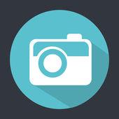 Camera button design — Stock Vector
