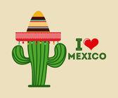 Mexican icon design — ストックベクタ