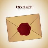 Seal envelope — Stock Vector