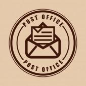 Posty office — Stock Vector