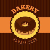 Bakery menu design — Stock Vector