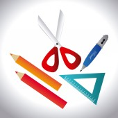 Education design, vector illustration. — Stock Vector