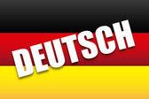 Deutsch design — Stock Vector