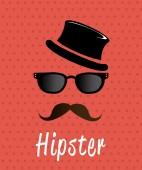 Hipster design,vector illustration. — ストックベクタ