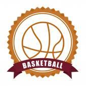Conception de basket-ball — Vecteur