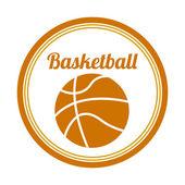Basketball-design — Stockvektor