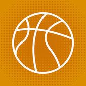 Basketball design — Stock Vector