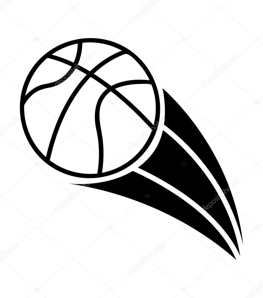 篮球手绘简笔画